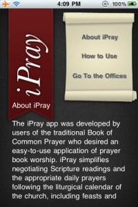 iPray BCP App